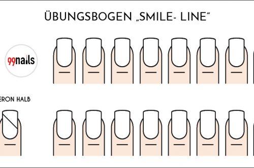 Smile Line Übungsbogen kostenlos zum Download