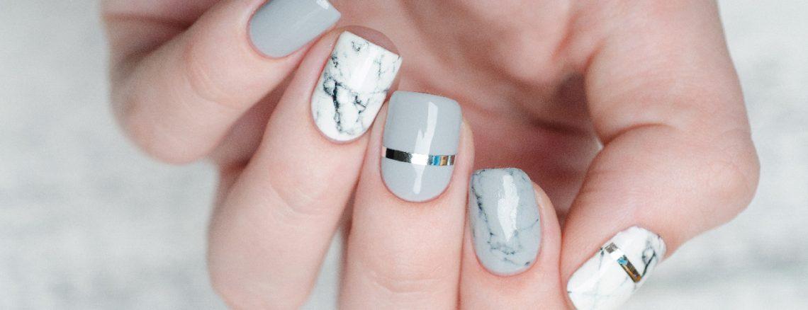 Marmor Nägel Gelnägel Mamor Marble Nails