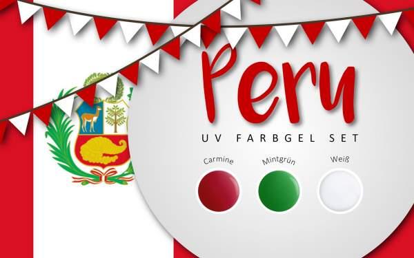 UV Farbgel Set - Peru 5ml