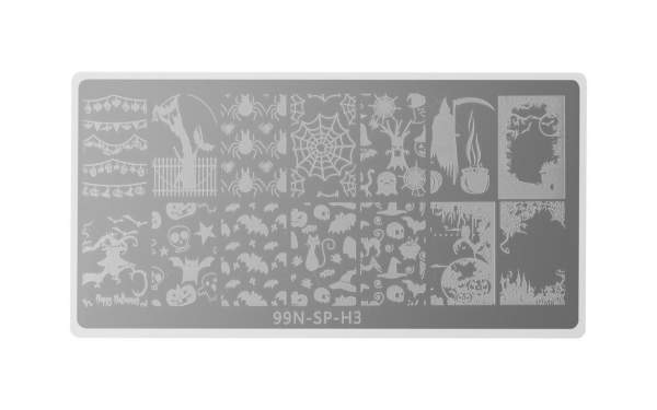 Stamping Plate Special - Halloween Night