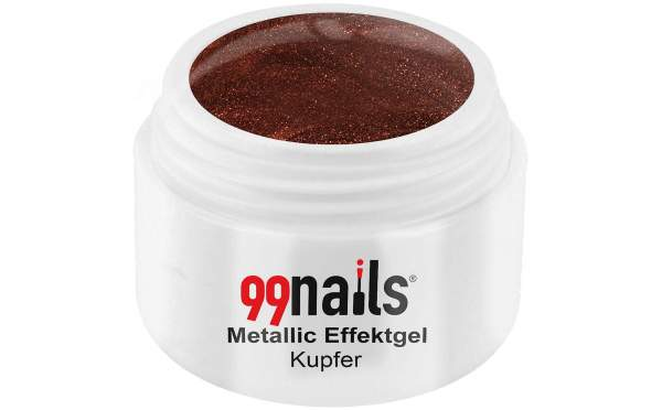 Metallic Effektgel - Kupfer 5ml