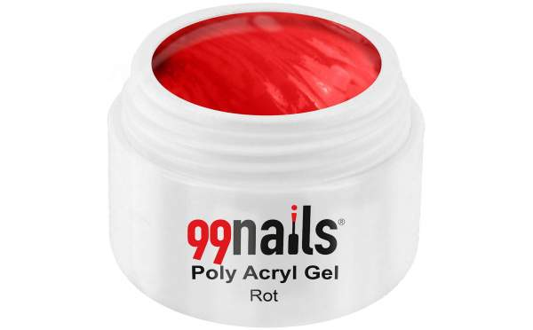 Poly Acryl Gel - Rot 15ml