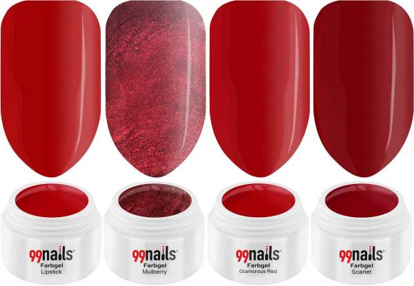 UV Farbgel Set - Red Lips 5ml