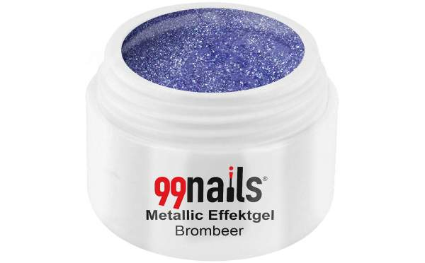Metallic Effektgel - Brombeer 5ml