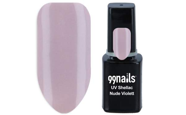 UV Shellac - Nude Violett 12ml