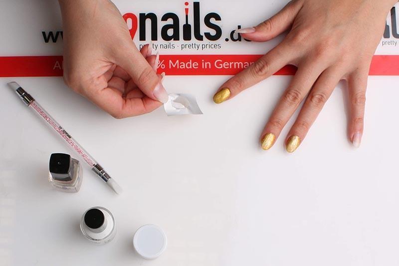 Chrome Nails Anleitung Einfach Und Schnell