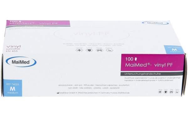 MaiMed Vinylhandschuhe weiß 100er Box Gr. M