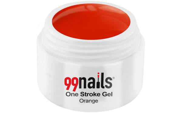 One Stroke Gel - Orange 5ml