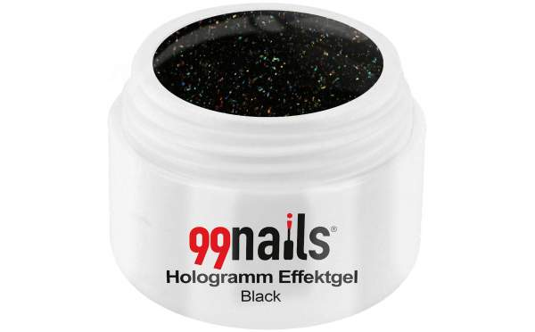 Hologramm Effektgel - Black 5ml