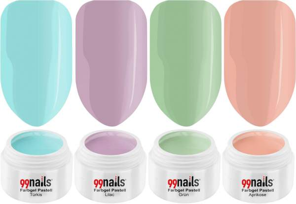 UV Farbgel Set - Sweet Pastel 5ml
