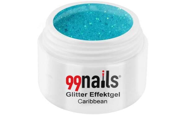 Glitter Effektgel - Caribbean 5ml