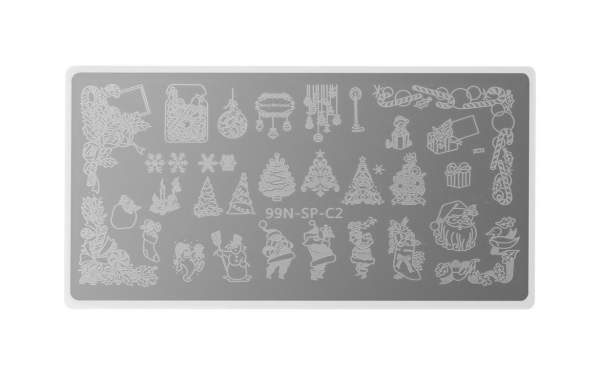 Stamping Plate Special - Santa Claus
