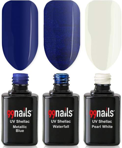 UV Shellac Set - Night Sky 12ml