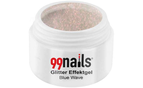 Glitter Effektgel - Blue Wave 5ml