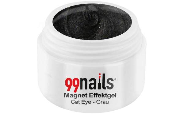 Magnet Effektgel - Cat-Eye - Grau 5ml