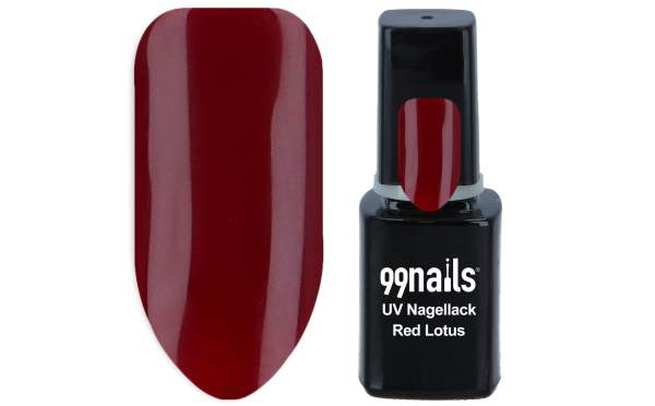 UV Nagellack - Red Lotus 12ml