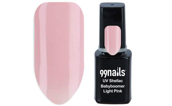 UV Shellac - Babyboomer Light Pink 12ml
