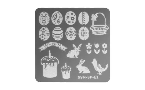 Stamping Plate Special - Easter Egg