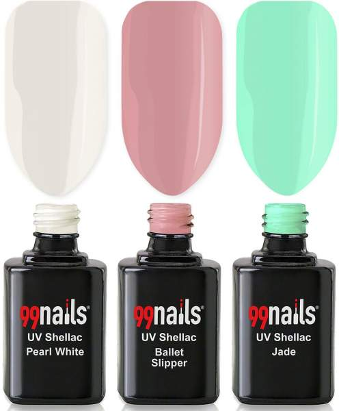 UV Shellac Set - Lovely Spring 12ml