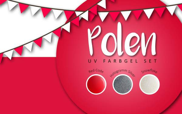 UV Farbgel Set - Polen 5ml