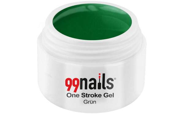 One Stroke Gel - Grün 5ml