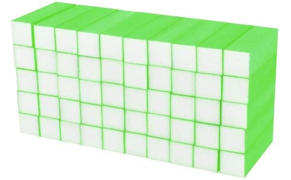 50x Schleifblock / Buffer Neon Grün Körnung 180