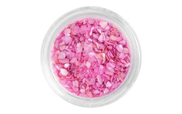 Nailart Muschelsplitter Girly Pink