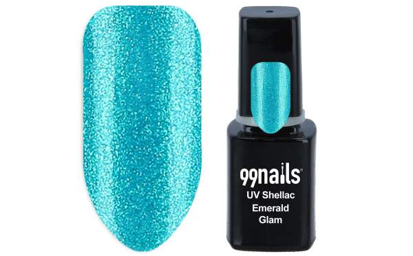 UV Shellac - Emerald Glam 12ml