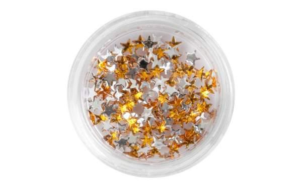 Strasssteine Sterne Gold