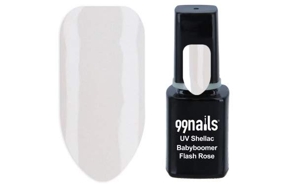 UV Shellac - Babyboomer Flash Rose 12ml