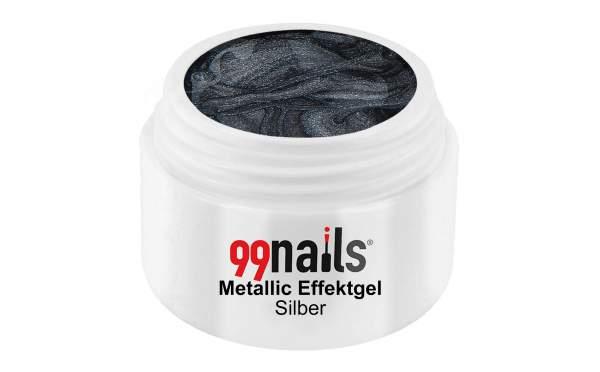 Metallic Effektgel - Silber 5ml