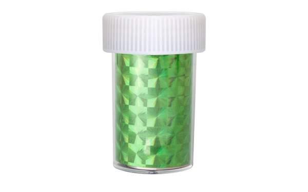 Transfer Nagelfolie Hologram Green
