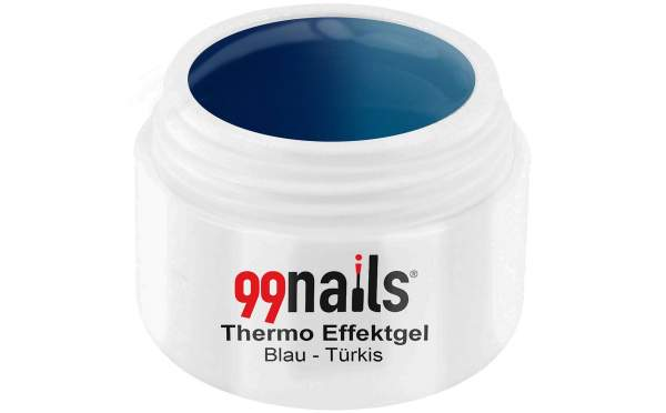 Thermo Effektgel - Blau-Türkis 5ml
