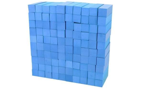 100x Schleifblock / Buffer Blau