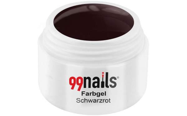 Farbgel - Schwarzrot 5ml
