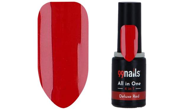 All in One - 4 IN 1 Gellack Deluxe Red