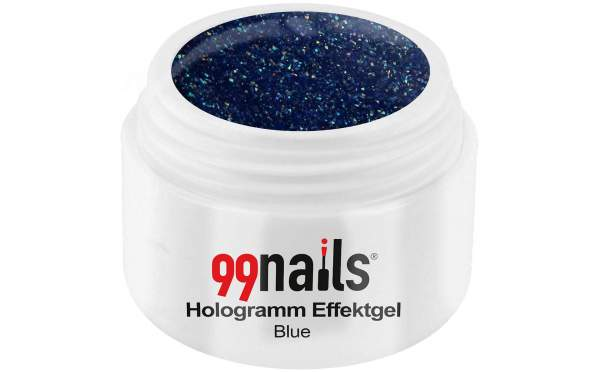 Hologramm Effektgel - Blue 5ml