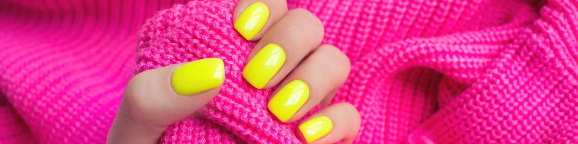 Schöne Neon Farbgele