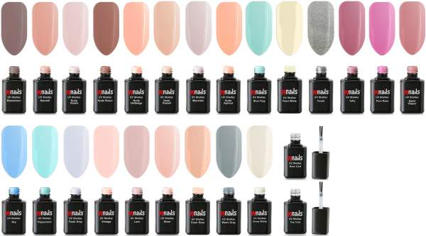 UV Shellac 25-er Set Pastell