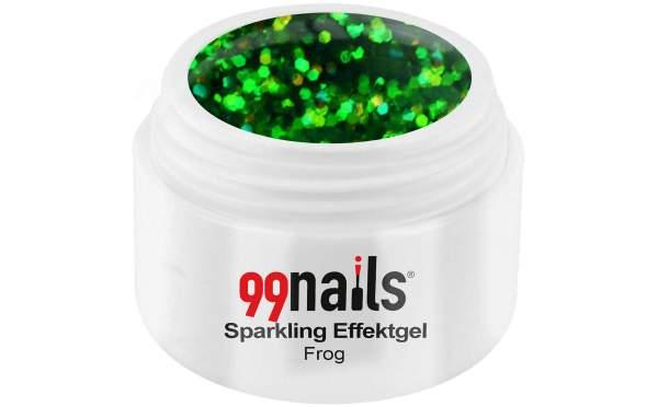 Sparkling Effektgel - Frog 5ml