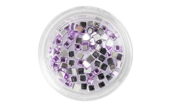 Strasssteine Square Light Purple
