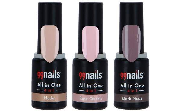 All in One Gellack Set -Natural Beauty