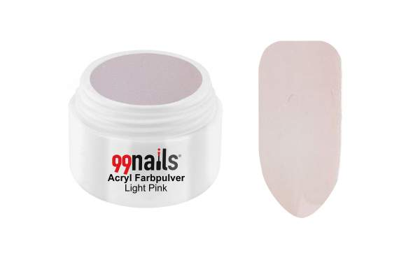 Acryl Farbpulver - Light Pink 7g