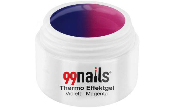 Thermo Effektgel - Violett-Magenta 5ml