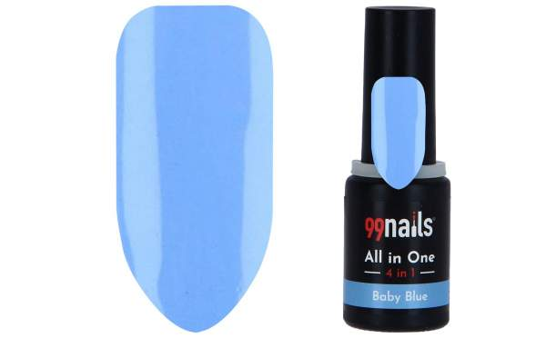 All in One - 4 IN 1 Gellack Baby Blue