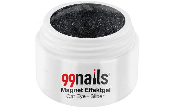 Magnet Effektgel - Cat-Eye - Silber 5ml