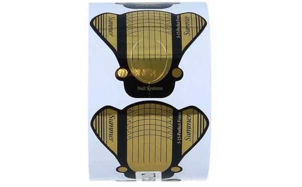 Modellierschablonen Gold breit