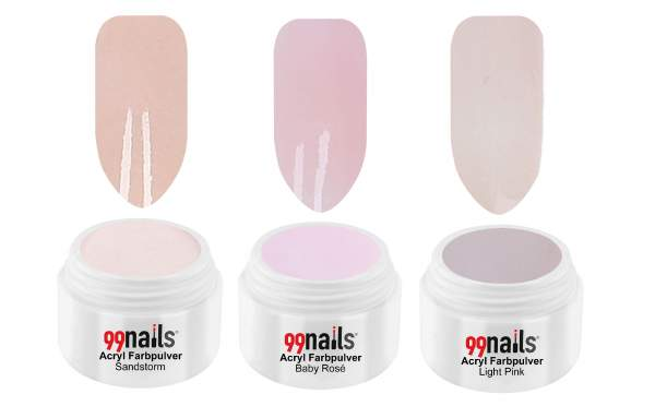 Acryl Pulver Set - Natural Beauty