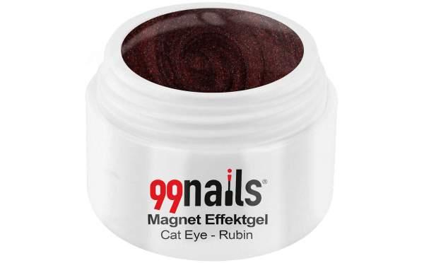 Magnet Effektgel - Cat-Eye - Rubin 5ml