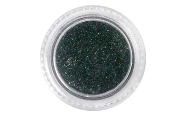 Nailart Neon Glitterpuder Dark Green